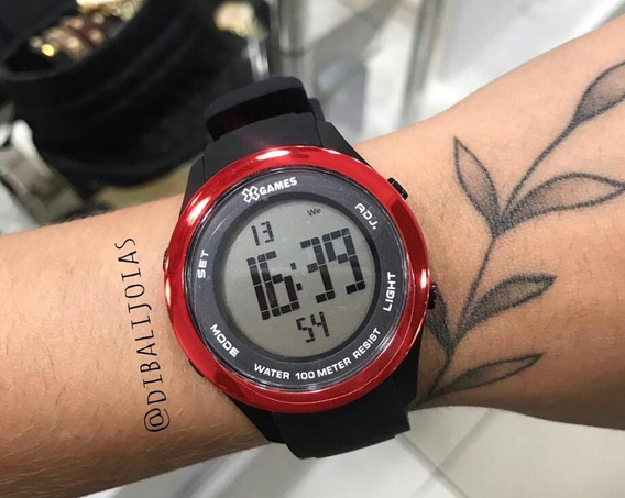 Relógio Feminino X-games Xmppd388 Digital Quartz Sport