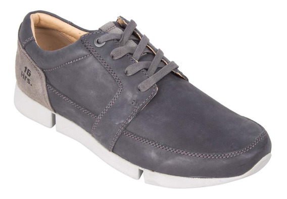 Zapato Work Casual 16 Hrs Hombre Negro - S261