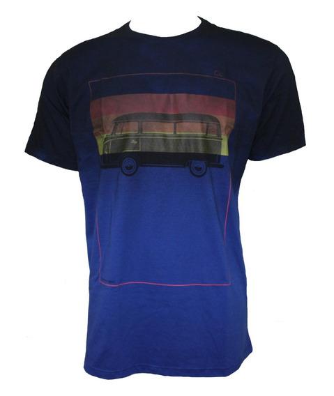 Camiseta Ogochi Masculina Marinho Estampada 006413017
