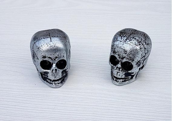 Puxadores Caveiras Old Skull Gavetas Móveis Decoração Brinde