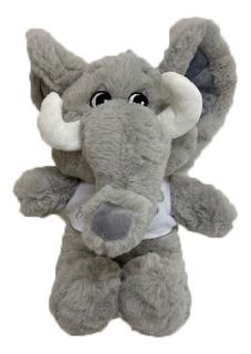 Peluche Animales Con Remera Baby Elefante