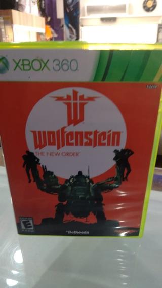 Wolfenstein The New Order Xbox 360 Original