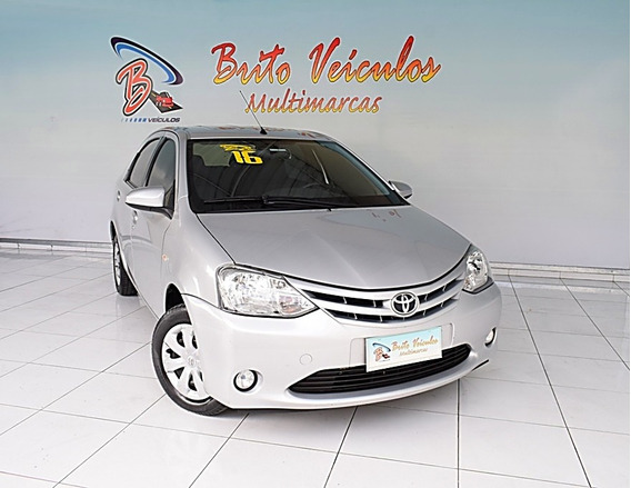 Toyota Etios 1.5 Xs Sedan 16v Flex 4p Manual 2016
