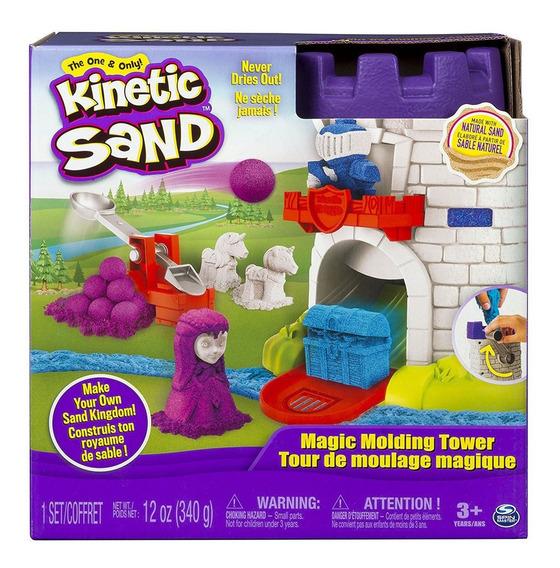 Castillo Mágico Moldeador Kinetic Sand Spin Master