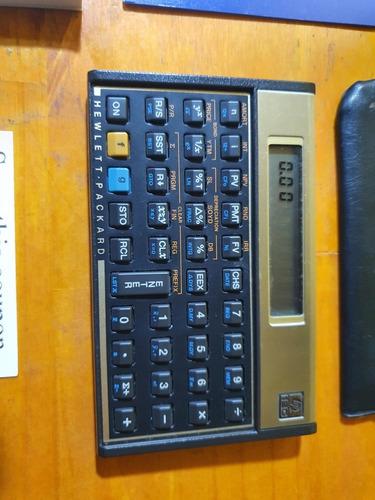 Calculadora Financiera Hewlett Packard Hp 12 C Funciona Todo