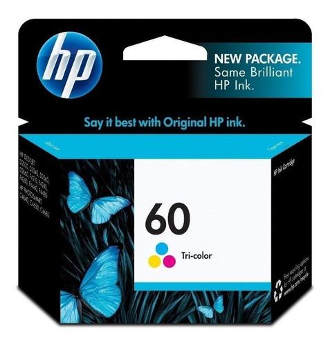 Imagen 1 de 4 de Cartucho Hp 60 Color Original Nuevos En Caja