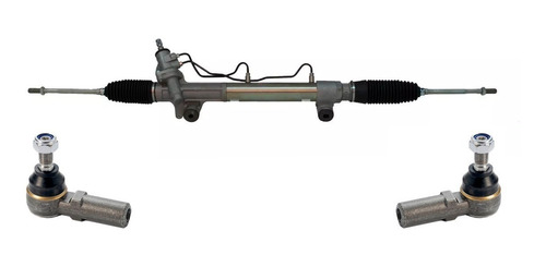 Cremallera Direccion Hidraulica Toyota Hilux 05/ C/ Extremos