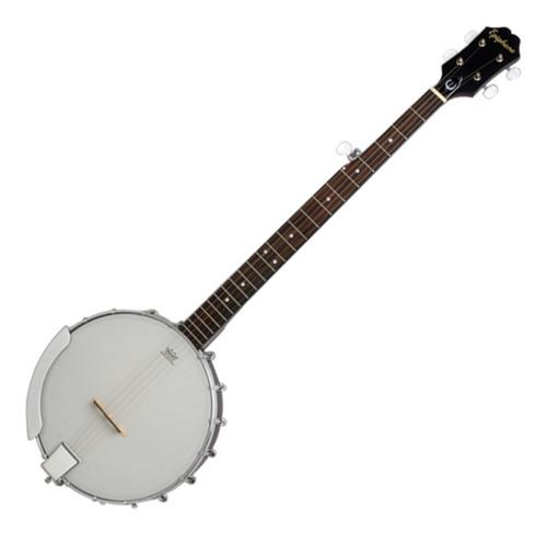 Imagen 1 de 8 de EpiPhone Mb100 Banjo 5 Cuerdas Abierto Parche Remo