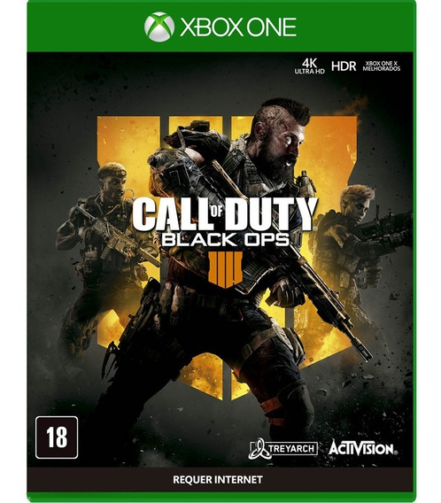 Call Of Duty Black Ops 4 | Mídia Física | Novo | 6x S/juros