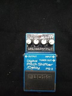 Pedal Boss Digital Pitch Shifter/delay Ps-2 Permuto