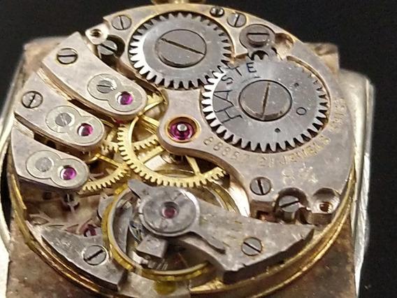Reloj Haste De Luxe De Los Años 20 21 Joyas Baño De Oro