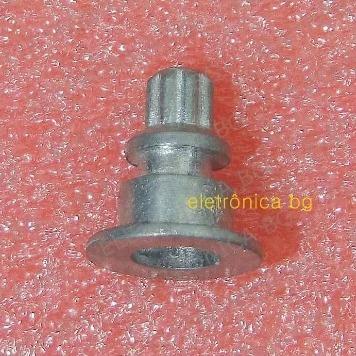 Engrenagem Metal Escova Gama Turbo Ion 2000 E 2300 Kit C 2