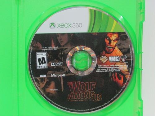 The Wolf Among Us Game Xbox 360 Original Americano Mercado Livre