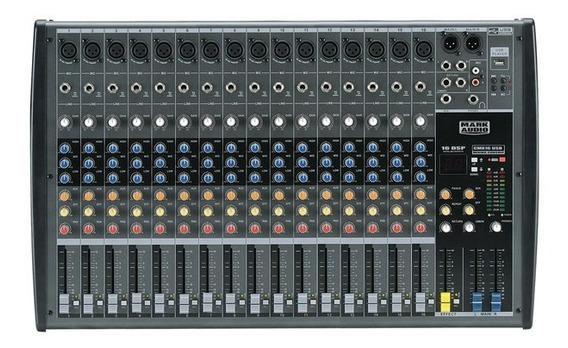 Mesa De Som Mark Audio Cmx 16 Usb/sd Cmx-16