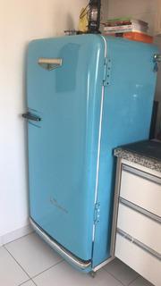 Geladeira Retrô Refrigerador Vintage Brastemp Conquistador