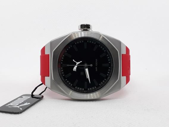 Puma Victory Black Dial Reloj Para Caballeros