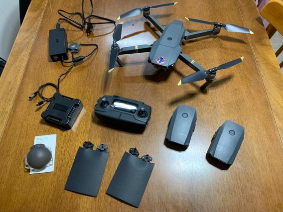 Drone Mavic Pro - Com 3 Baterias E Carregador Inteligente