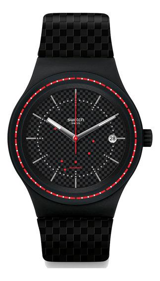 Relógio Swatch Sistem Damier Unissex Automático Sutb406