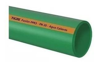 Caño Termofusión Tigre Agua Fría Caliente Pn20 20mm X 4mts.