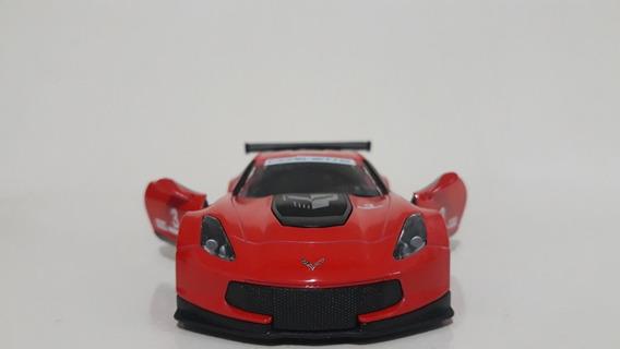 Miniatura Corvette C7r Vermelho Kinsmart 1/36