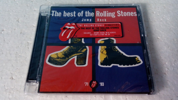 Cd The Rolling Stones Jump Back (the Best Of The Rolling