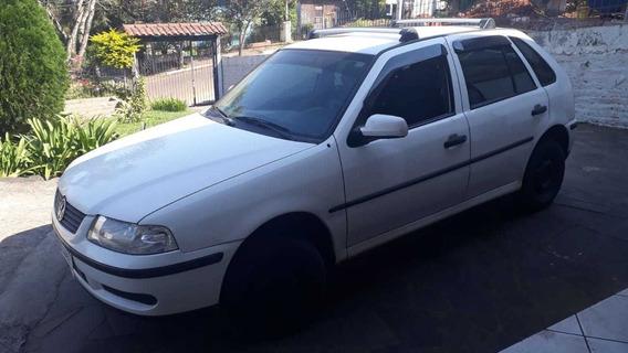 Volkswagem Gol 8v 4p Branco, Ar Condicionado.