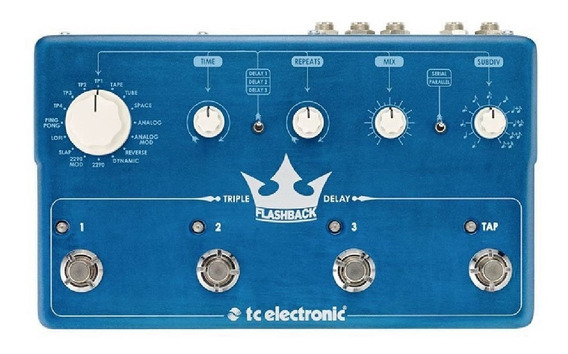 Pedal Flashback Triple Delay - Tc Electronic