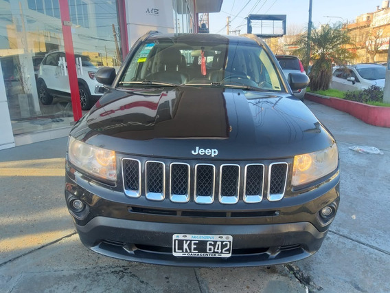 Jeep Compass 2012 Limited 2.4 At 4x4 Negro