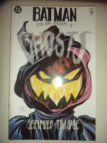 Batman Dia Das Bruxas 3 Ghosts Editora Abril 1997 Otimas