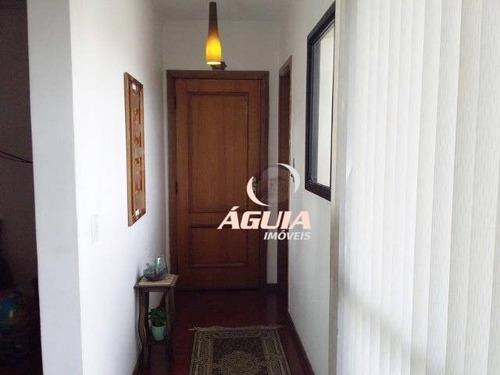 Apartamento Com 3 Dormitórios À Venda, 150 M² Por R$ 735.000,00 - Vila Alzira - Santo André/sp - Ap2429