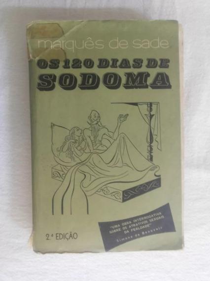 Os 120 Dias Sodoma Marques De Sade 2ª Edição 1969 Ed Hemus