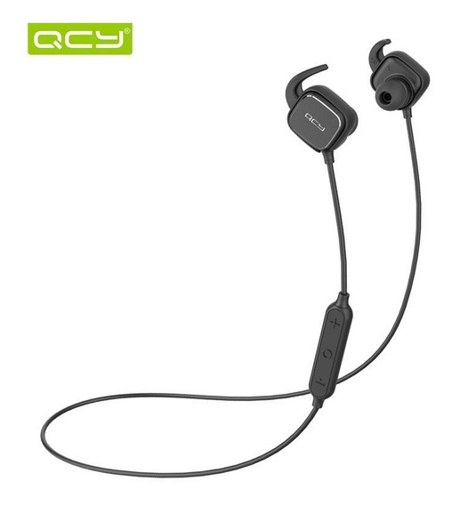 Fone Qcy Qy12 Bluetooth 4.1 Wireless Com Microfone - Preto