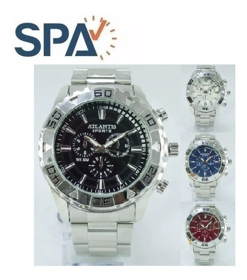 Relógio Atlantis Unisex Original G3243