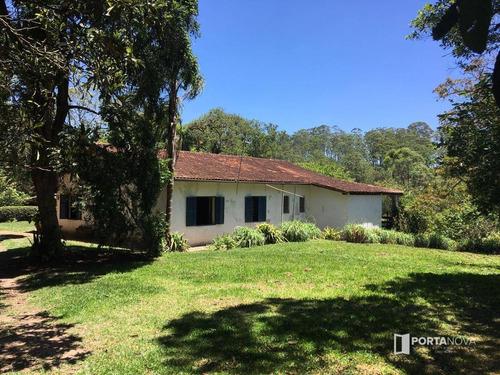 Chácara Com 3 Dormitórios À Venda, 12100 M² Por R$ 650.000,00 - Embu Mirim - Itapecerica Da Serra/sp - Ch0062