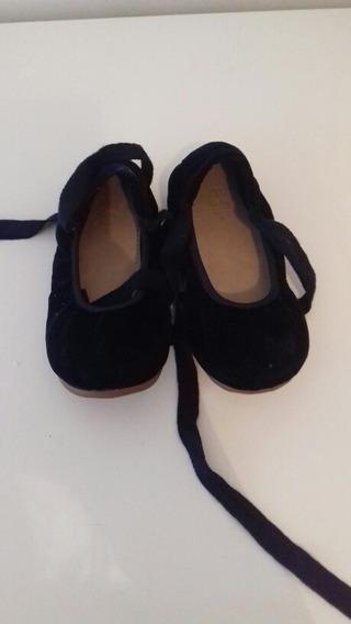 Zapatos Niña Zara Azul Talle 25