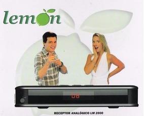 Receptor De Tv Analógico Lemon Lm-2000 ( Frete Grátis )