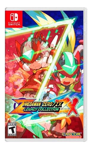 Imagen 1 de 5 de Mega Man Zero / Zx Legacy Collection - Nintendo Switch
