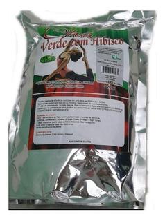 Chá Verde C\ Hibisco, 100g, Pro Ervas.
