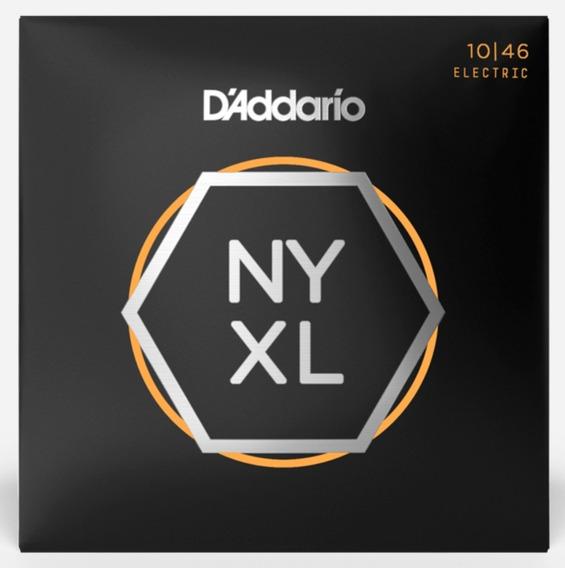 Juego De Cuerdas Guitarra Daddario Nyxl 1046
