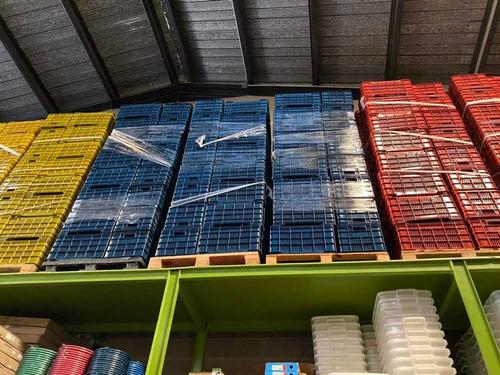 Cestas De Verdura Pollo Y Frutas Plasticas 40 Kg Lamejor