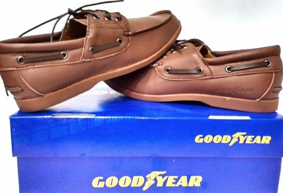 Zapatos Goodyear Náuticos Leñadores Livianos Local Centro