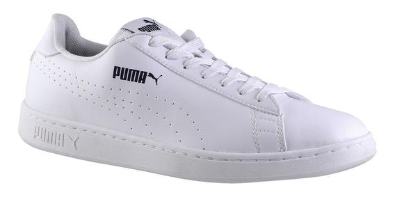 Zapatillas Puma Smash V2 L Hombre White