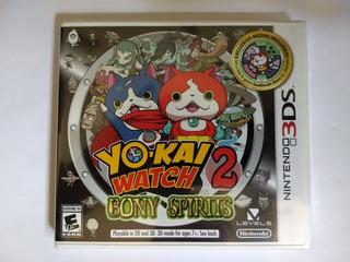Yo Kai Watch 2 Bony Spirits 3ds Nuevo Citygame