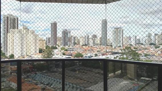 Apartamento Com 3 Dormitórios À Venda, 185 M² Por R$ 1.100.000 - Tatuapé - São Paulo/sp - Ap4668