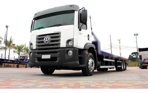 Vw 24280 2015 Trucado Chassi = Scania Mercedes Ford Cargo