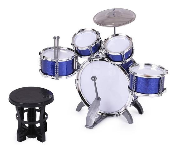 Niños Niños Tambor Set Instrumento Musical Juguete 5 Tambo