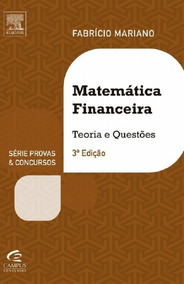Matemática Financeira Para Concursos [mariano]