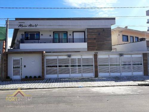 Imagem 1 de 23 de Casa Com 2 Dormitórios À Venda, 66 M² Por R$ 230.000,00 - Caiçara - Praia Grande/sp - Ca0845