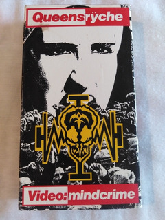 Queensryche Video Mindcrime Vhs Omi