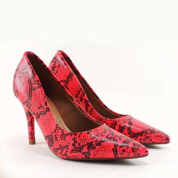 Stiletto Taco 8,50 Cm Suela Antideslizante Art 1184113 Rojo
